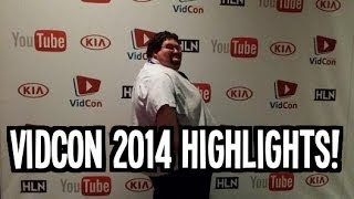 Vidcon 2014 Highlights!!!!