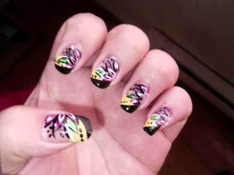 decoracion de u as con esmalte youtube