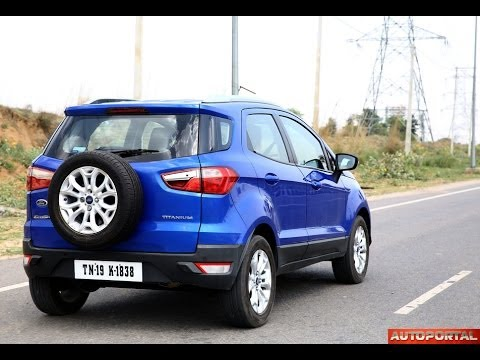 ford ecosport review 39 test drive 39 autoportal youtube. Black Bedroom Furniture Sets. Home Design Ideas