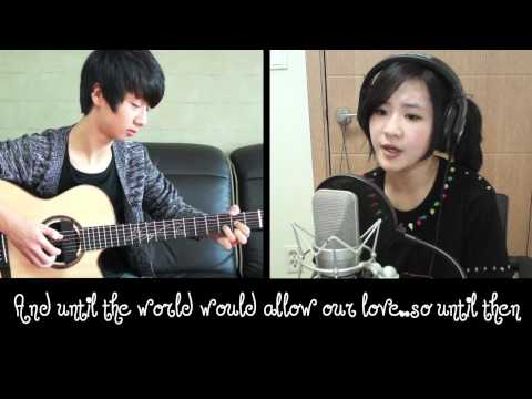 Park Bom/2ne1 - Don't Cry Live Acoustic Cover by Megan Lee ft.Sungha Jung