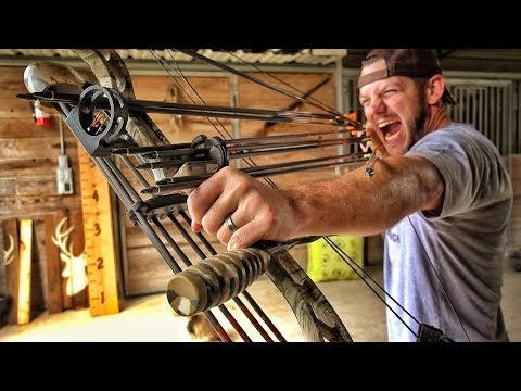 Shooting 10 Arrows at Once
