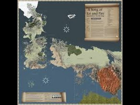 Check out this interactive 'Game of Thrones' map (with ...