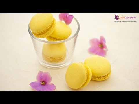 French macarons - recipe