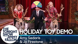Amy Sedaris and Jo Firestone Demo the Hottest Holiday Toys