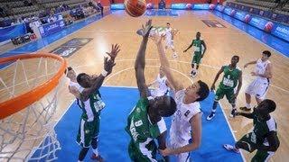 Basket - Championnat du monde U19 - Senegal/Bresil