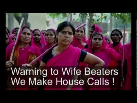 The Gulabi Gang India Pink Gangs