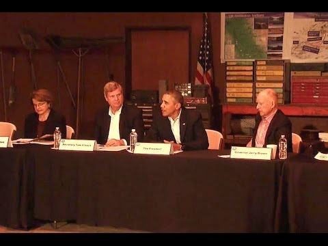 President Obama Participates in a Roundtable Discussion on the California Drought