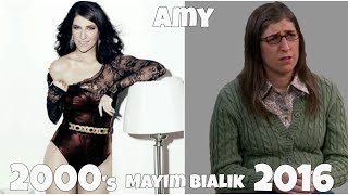 The Big Bang Theory TV show actors, Before and After they were famous