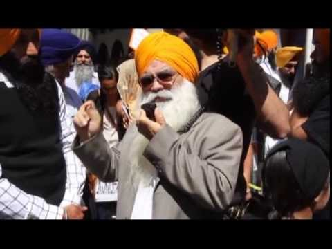 Free Prof. Devinderpal Singh Bhullar Rally in San Francisco - April 18, 2013