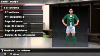 OPTION FILE PS2/SAVEDATA PSP PES 2014 LIGA MX CLAUSURA