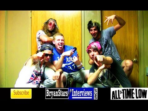 All Time Low Interview #4 Alex Gaskarth & Jack Barakat ft. Mod Sun UNCUT Warped Tour 2012