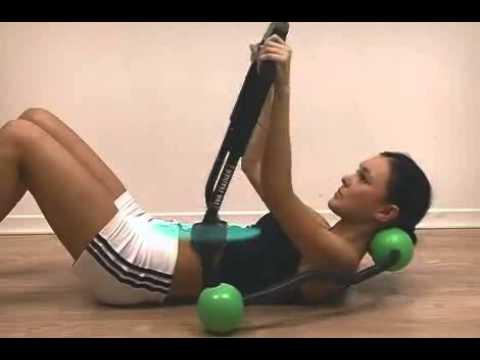 Elektrostymulator kołyska | spłaszczanie i wzmocnienie mięśni brzucha | Tua Trainer