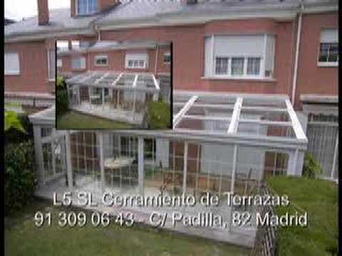 L5 sl cerramientos de terrazas video 3 cerramiento de - Cerramientos terrazas aluminio ...