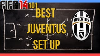 Fifa 14 101- Best Juventus Setup ( Squad And Formation