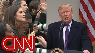 CNN reporter presses Trump: You promised Mexico would pay for wall