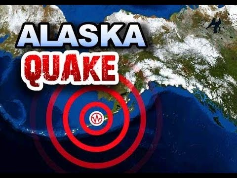 MASSIVE MAGNITUDE 8.0 EARTHQUAKE ROCKS ALASKA'S's ALEUTIAN ISLANDS MONDAY NIGHT (JUNE 23, 2014)