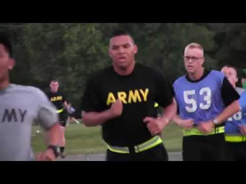 9th Regiment, Advanced Camp 2017 | Army Physical Fitness Test