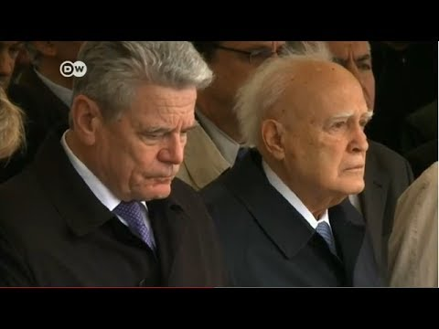 German President Visits Greek Massacre Site | Journal