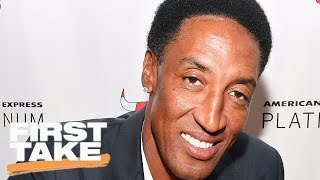 Scottie Pippen Compares LeBron To Magic Johnson | First Take | May 25, 2017