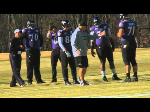 Look! Baltimore Ravens TE Dennis Pitta Back On Practice Field