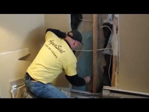 how to hydraulic cement concrete crack repairs youtube