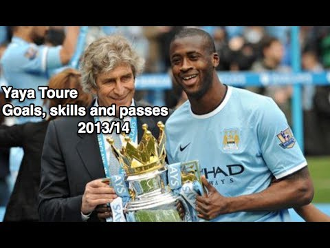 Yaya Toure - Goals, Skills and Passes 2013/14 - HD