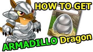 How To Breed ARMADILLO DRAGON In Dragon City EASY