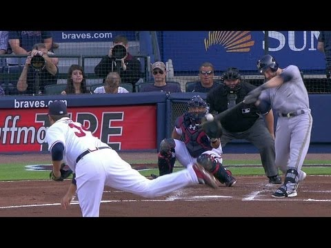 MIL@ATL: Lucroy doubles to put Brewers ahead early