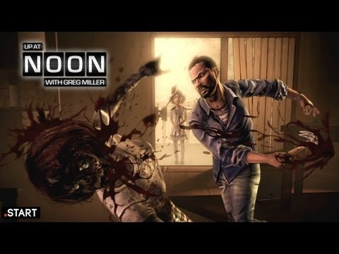 First Walking Dead The Game Trailer! - Up At Noon