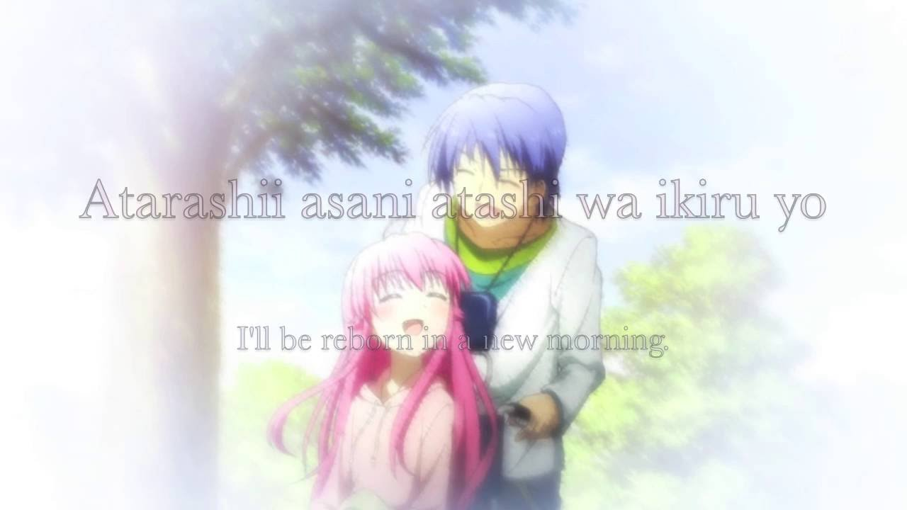 JUST love this is ichiban no takara mono Ost Angel Beats kita harus menerima seseorang apa adanya tidak saling bertengkar, walapun saling bertengkar harus selalu tetap saling menyayangi. :)