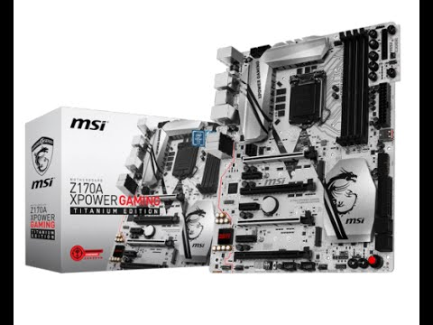 Bild: Gamescom 2015: MSI Z170A Gaming M9 ACK & Z170A XPower Gaming Titanium Edition - Hands On