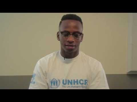West Bromwich Albion striker Saido Berahino shares his refugee story with UNHCR on World Refugee Day