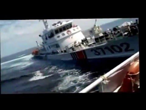 Tàu Trung Quốc truy sát tàu Cảnh sát biển Việt Nam
