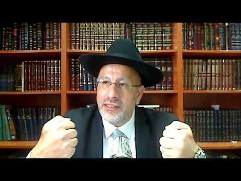 Le Rabbi rappelle l'inquietude de Moshe avec les juifs qui veulent rester en galouth
