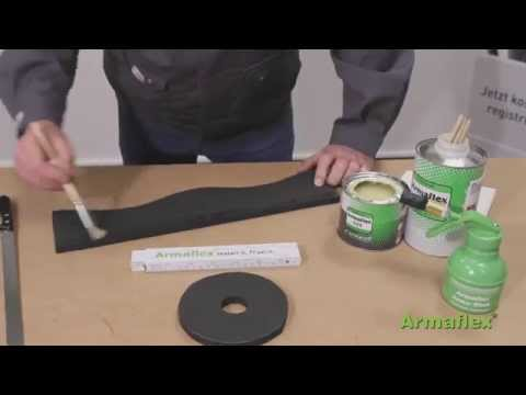 Armacell - Armaflex Sheet Spindle neck valve Application Video