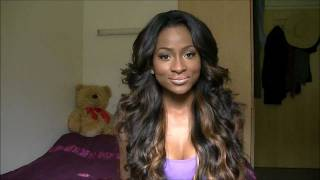 Middle Part Sew in Hairstyles