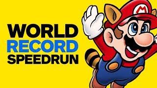 Super Mario Bros. 3 World Record Speedrun