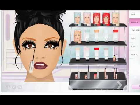4 LADY GAGA MAKEUP LOOKS ON STARDOLL