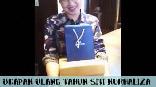 Ucapan Siti Nurhaliza on her 33rd Birthday in Singapore.