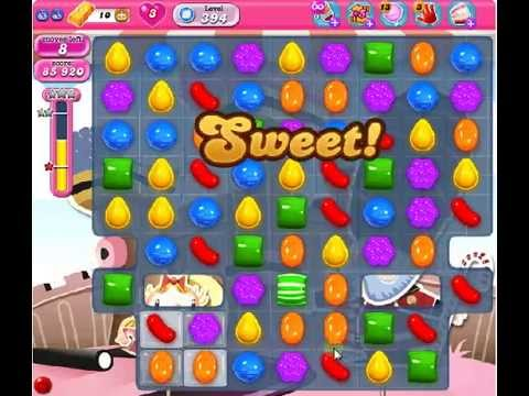 How to beat Candy Crush Saga Level 394 - 1 Stars - No Boosters - 95