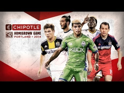 Young talent shines in 2014 Chipotle MLS Homegrown Game