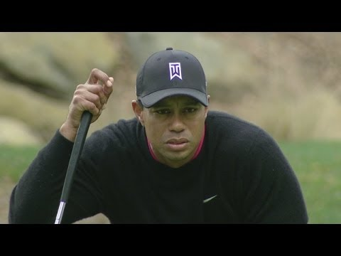 Tiger Woods grabs 36-hole lead at World Challenge