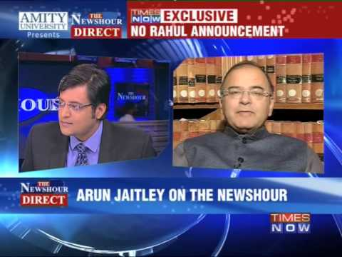 The Newshour Direct :  Arun Jaitley