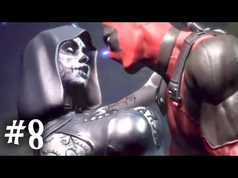ANIMATED BOOBS MAKES GAMES GREAT  - Deadpool - Part 8