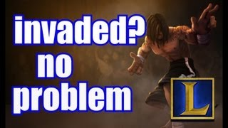 What To Do When Your Jungle Gets Invaded Level 1 Example