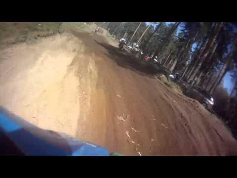 Lytkarino motocross 2014 04 26 race after 30. Vovan yamaha7 250 & Mitia kawa73 450 sportcam ch2