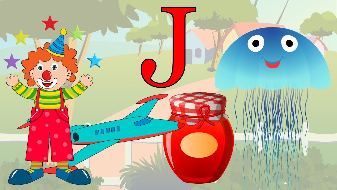 Learn About The Letter J - Preschool Activity