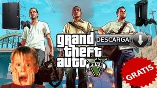 Como Descargar GTA 5 Para Xbox 360 Y PS3 Gratis!! 2014 [HD