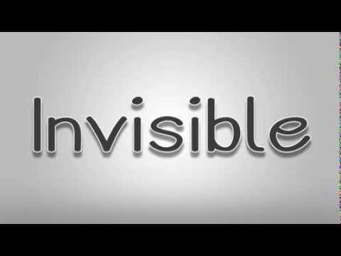 Invisible ~ Hunter Hayes ~ Lyrics