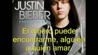 Justin Bieber Somebody To Love (en Español)